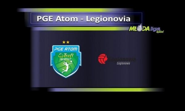 Młoda Liga Kobiet 2016: PGE Atom Trefl Sopot – Legionovia Legionowo (2. półfinał)