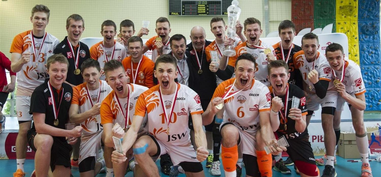 Jastrzębski Węgiel mistrzem Polski kadetów!