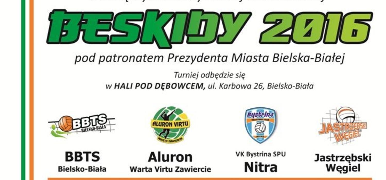 XV Międzynarodowy Turniej Siatkarski Beskidy 2016