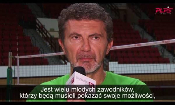Andrea Gardini: ta drużyna może dać Olsztynowi wiele radości