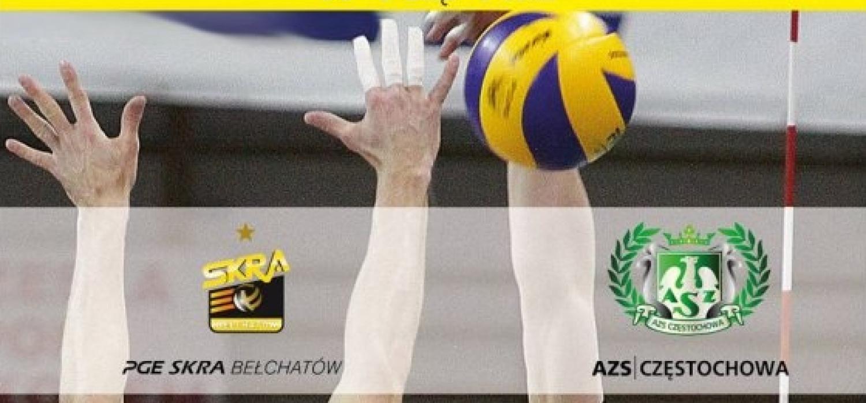 AZS Częstochowa i PGE Skra Bełchatów 3 września w Kępnie