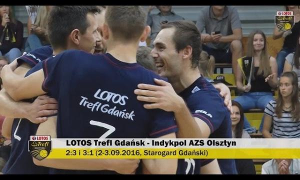 Sparingi z Indykpolem AZS Olsztyn w Starogardzie Gdańskim | LOTOS Trefl Gdańsk