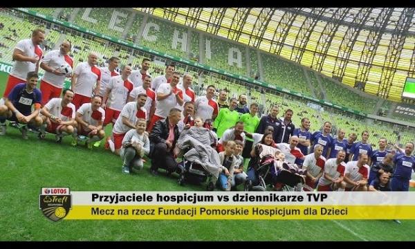 Gawryszewski, Gacek, Grzyb i Masny w charytatywnym meczu piłkarskim | LOTOS Trefl Gdańsk