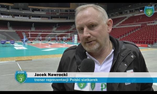 Jacek Nawrocki z wizytą w Atomie Treflu Sopot