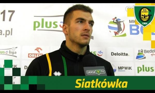 Paweł Pietraszko po meczu GKS-u Katowice z MKS-em Będzin