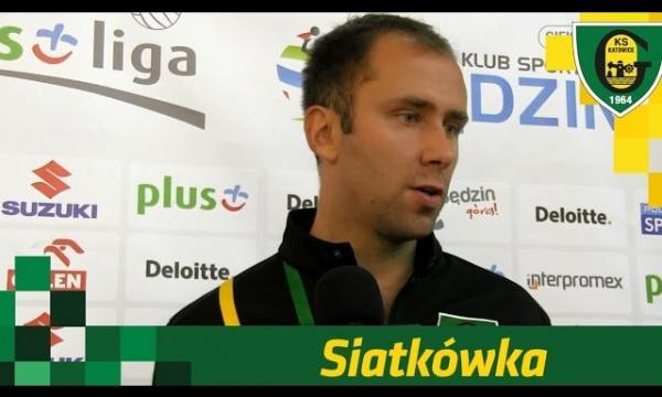 Grzegorz Słaby po meczu MKS Będzin - GKS Katowice