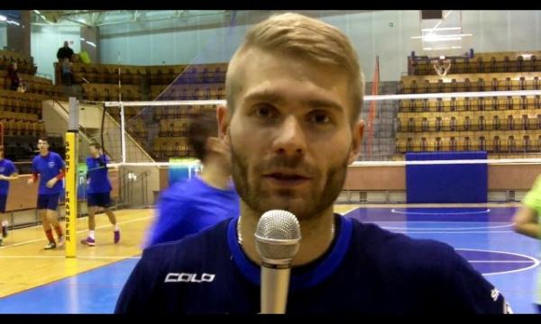 Adrian Mihułka przed meczem w Radomiu