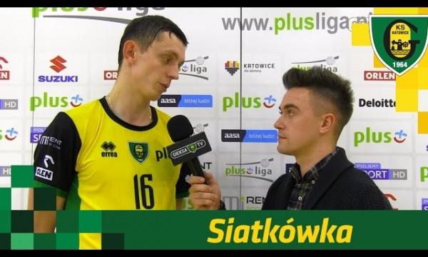 Rafał Sobański po meczu z ZAKSĄ