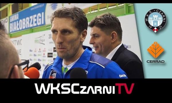 Wywiady po meczu - Robert Prygiel i Dawid Murek