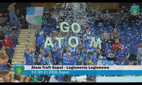Atom Trefl Sopot - Legionovia Legionowo