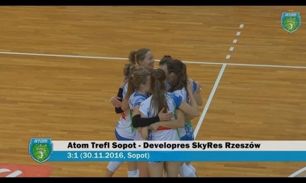 Atom Trefl Sopot - Developres SkyRes Rzeszów