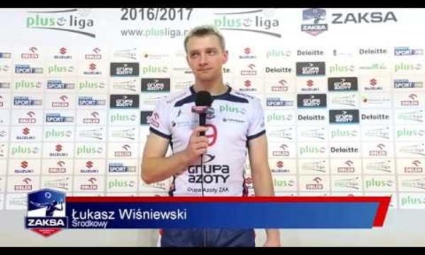 Wiśniewski i Konarski po meczu z Effectorem Kielce