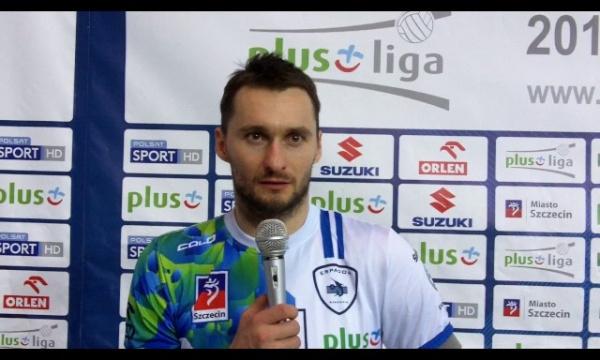 Michał Ruciak po meczu z AZS Częstochowa