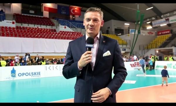Wypowiedź Pawła Papke po meczu ZAKSY z BBSK Istambul
