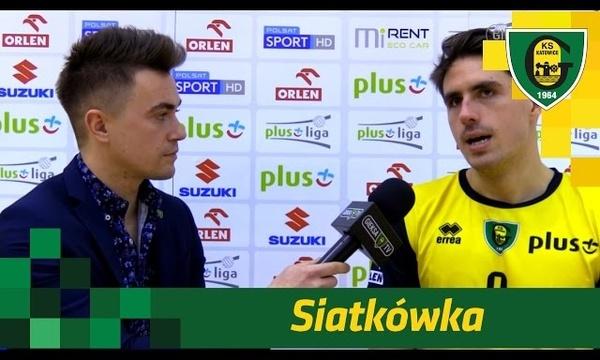 Tomasz Kalembka po meczu GieKSy z Politechniką