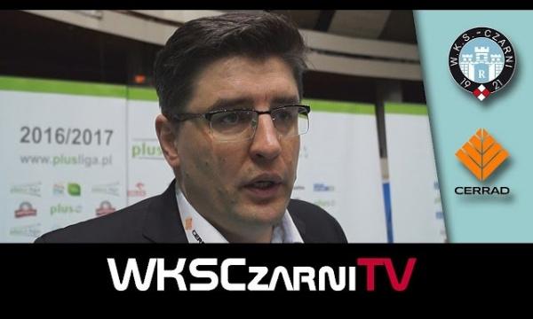 Wywiady po meczu Indykpol AZS Olsztyn - Cerrad Czarni Radom 3:1