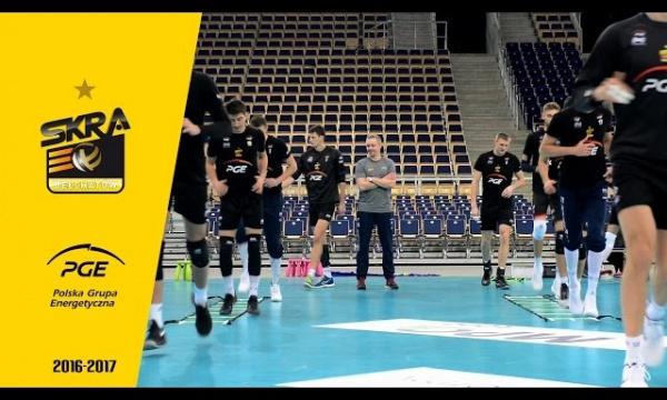 Trening PGE Skry przed meczem z Azimutem Modeną