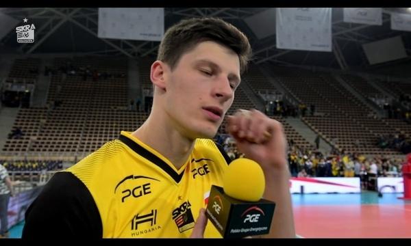 Srećko Lisinac po meczu z Azimut Modena
