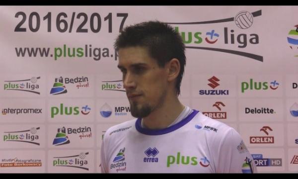 Marcin Waliński po meczu z Espadonem Szczecin