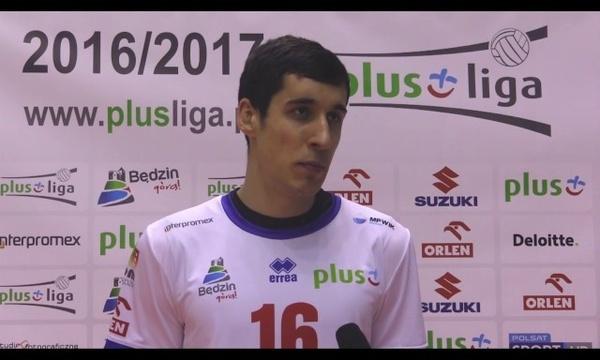 Krzysztof Rejno przed meczem z Cerradem