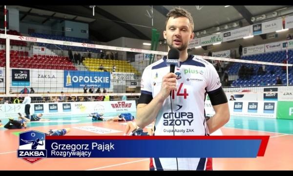 Idealne zakończenie 2016 roku, komentarz po meczu z Espadonem Szczecin