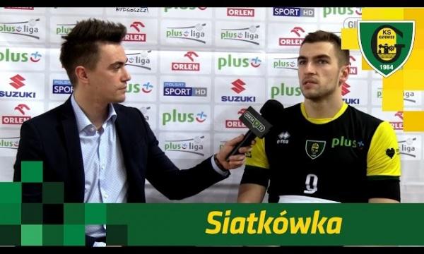 Paweł Pietraszko po wygranej GieKSy z Łuczniczką Bydgoszcz