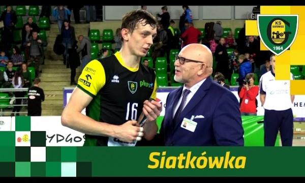 Piotr Gruszka po wygranej GKS-u Katowice w Bydgoszczy