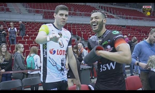 Kulisy meczu LOTOS Trefl Gdańsk - Jastrzębski Węgiel