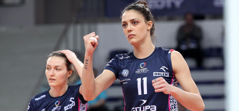Jelena Blagojević żegna się z Chemikiem Police