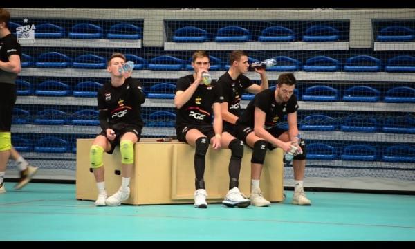 Trening przed meczem z AZS-em Częstochowa