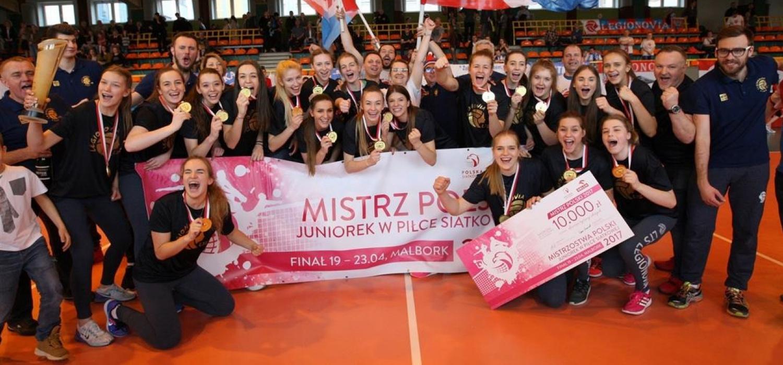 Złote Lalki – Legionovia mistrzem Polski juniorek