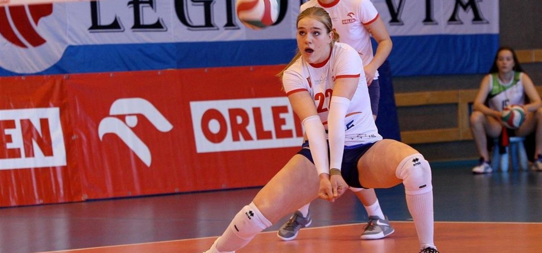 Aleksandra Rasińska najlepszą siatkarką MP juniorek