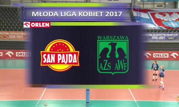 MKS San-Pajda Jarosław - AZS AWF Warszawa