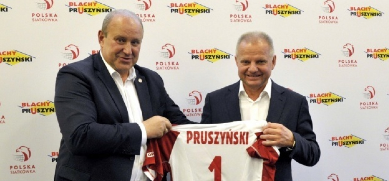 Firma Blachy Pruszyński sponsorem Polskiej Siatkówki