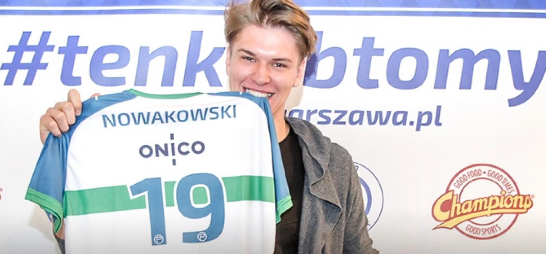 Jan Nowakowski opuszcza Łuczniczkę Bydgoszcz i zasili szeregi ONICO Warszawa