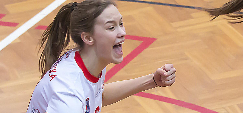 Paulina Sobolewska MVP sezonu 2016/17 MLK