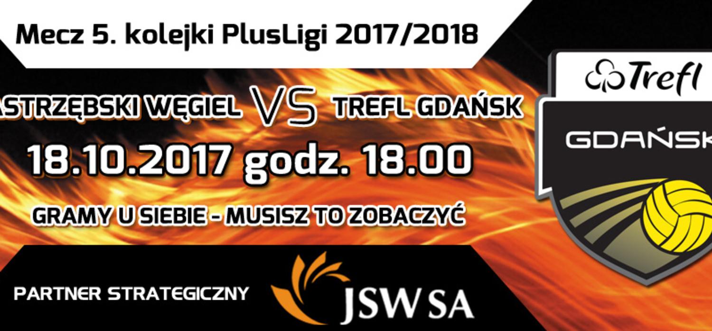 Teraz trzy mecze w Jastrzębiu-Zdroju. Na początek Trefl Gdańsk