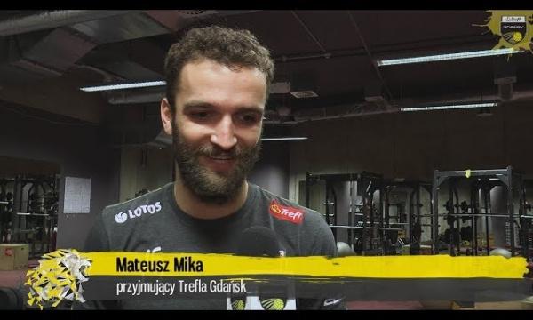 Ktoś przerwie passę zwycięstw u siebie lub na wyjeździe - Mateusz Mika przed meczem Trefla Gdańsk