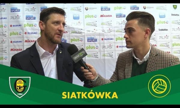 PlusLiga: wypowiedzi po meczu GKS Katowice – ZAKSA Kędzierzyn-Koźle