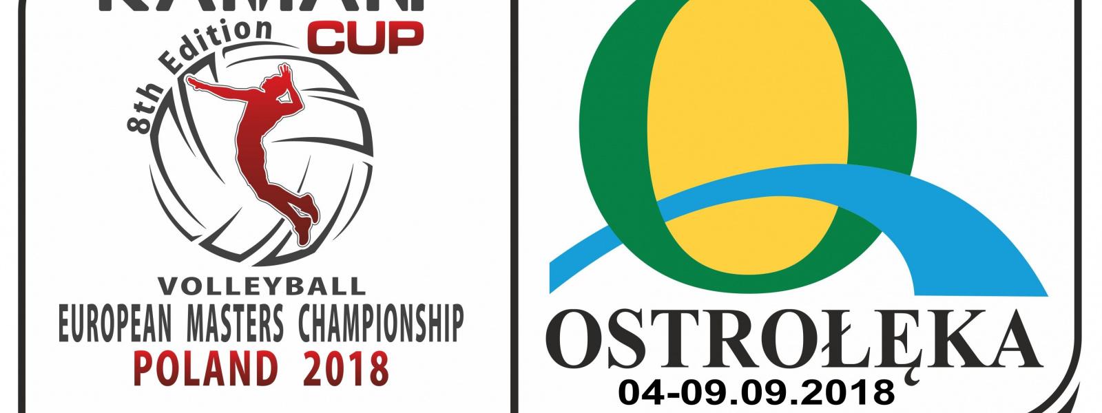 Ostrołęka gospodarzem Mistrzostw Europy Masters Polska 2018
