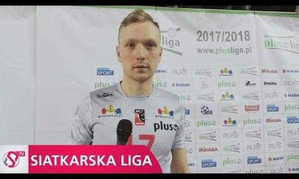 Mateusz Sacharewicz po meczu z PGE Skrą