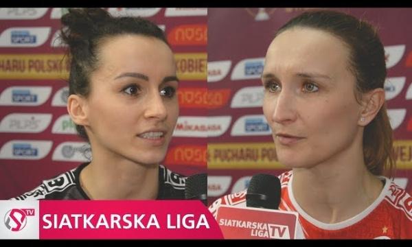 Puchar Polski: Siatkarki ŁKS Commercecon Łódź po meczu półfinałowym