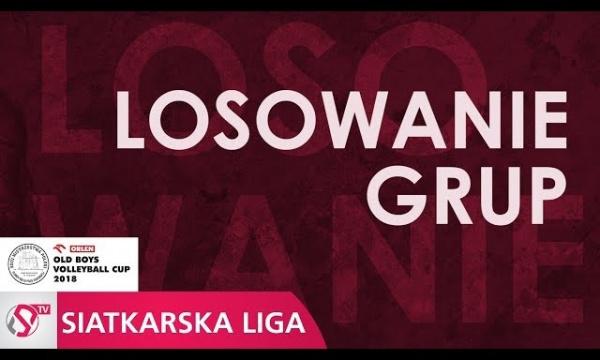 Losowanie fazy grupowej ORLEN XXIII Mistrzostw Polski Old Boy'ów