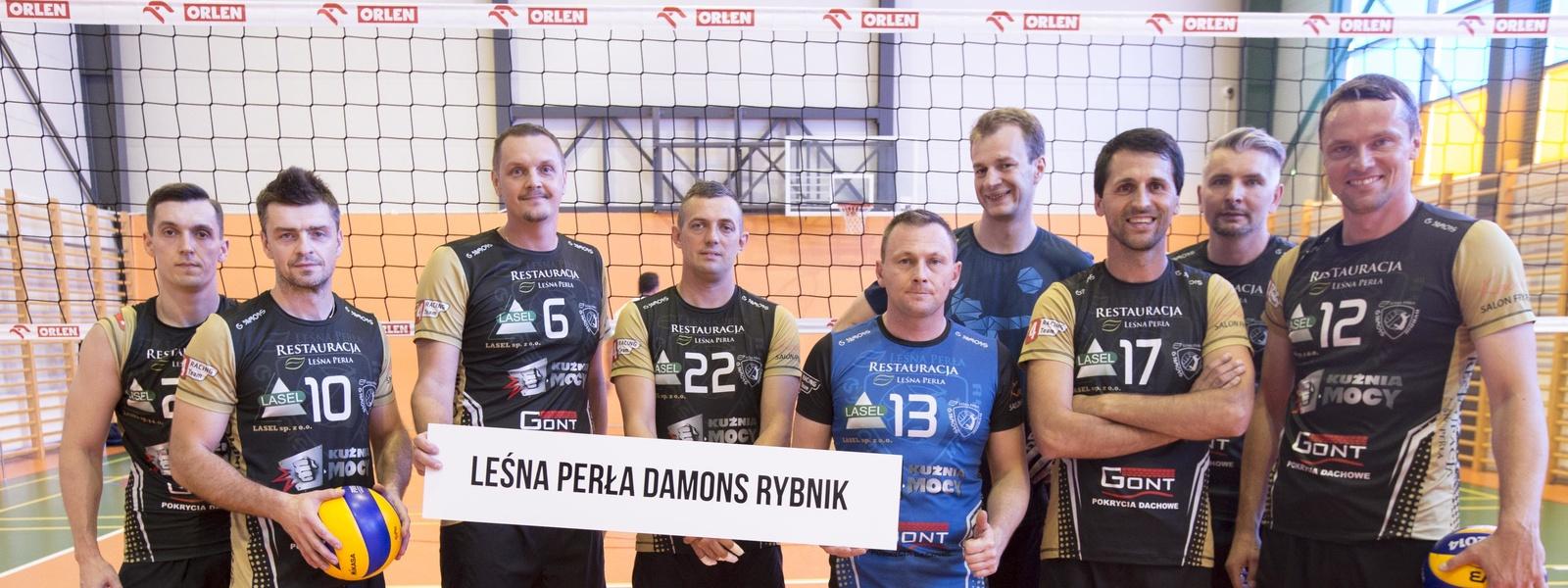 MP Old Boyów: Leśna Perła Damons Rybnik zwycięzcą w kategorii 35+