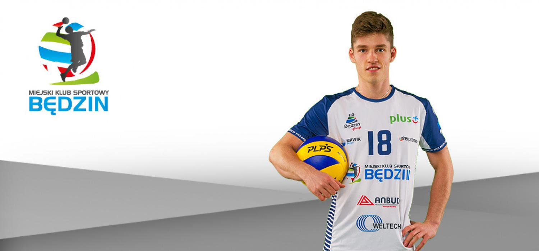 Szymon Gregorowicz zostaje w Będzinie