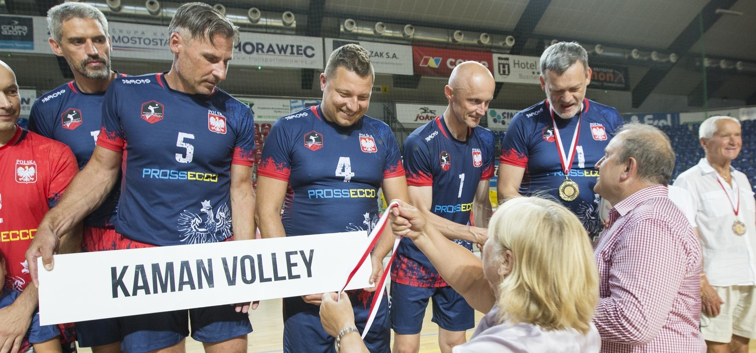 MP Old Boyów: KAMAN VOLLEY zwycięzcą w kategorii 45+