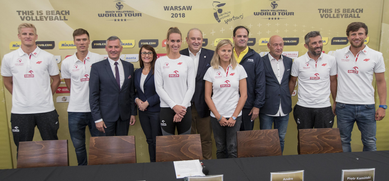 World Tour Warsaw 2018 – konferencja prasowa