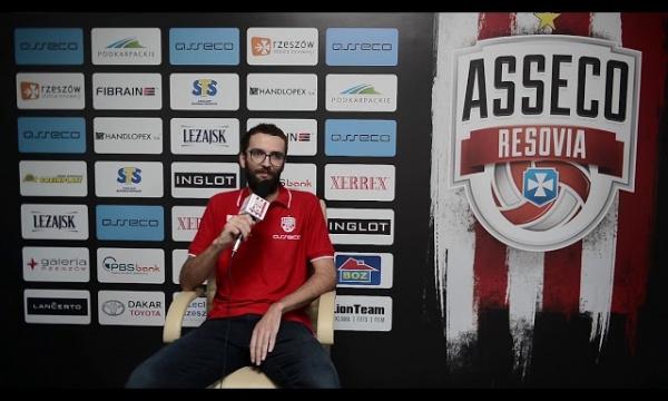 Wywiad z Mateuszem Miką dla AssecoResoviaTV