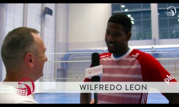 Pierwsze zgrupowanie Wilfredo Leona i wywiad po polsku