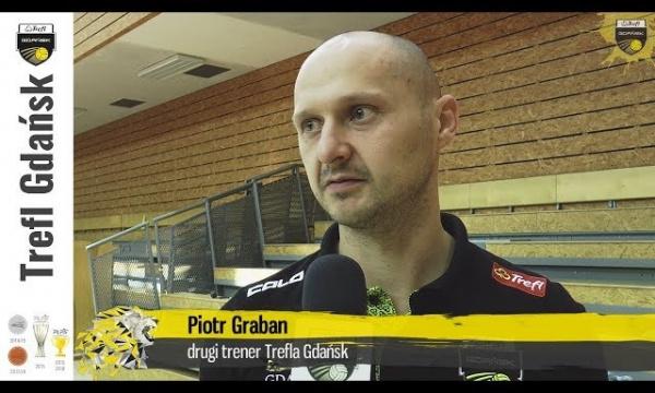 Piotr Graban przed IX Memoriałem Józefa Gajewskiego w Suwałkach | Trefl Gdańsk